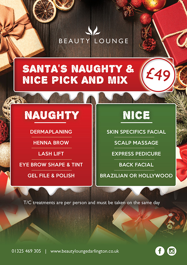 Beauty Lounge Loyalty Card